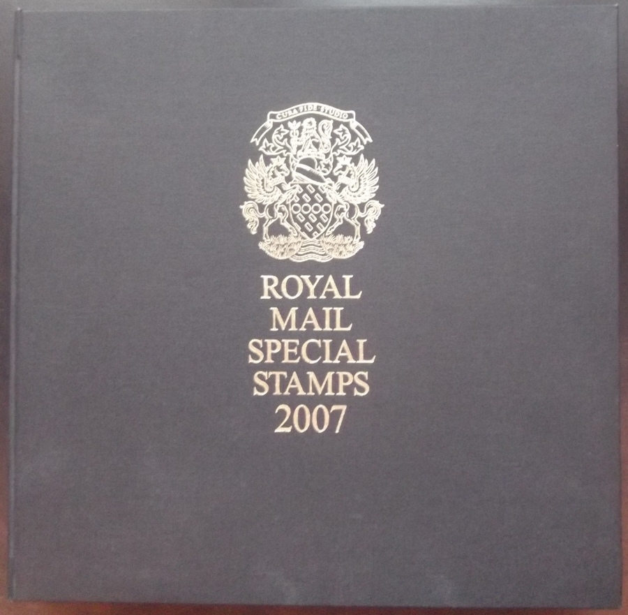 2007 Leather Bound Royal Mail Year Book. Limited Edition.