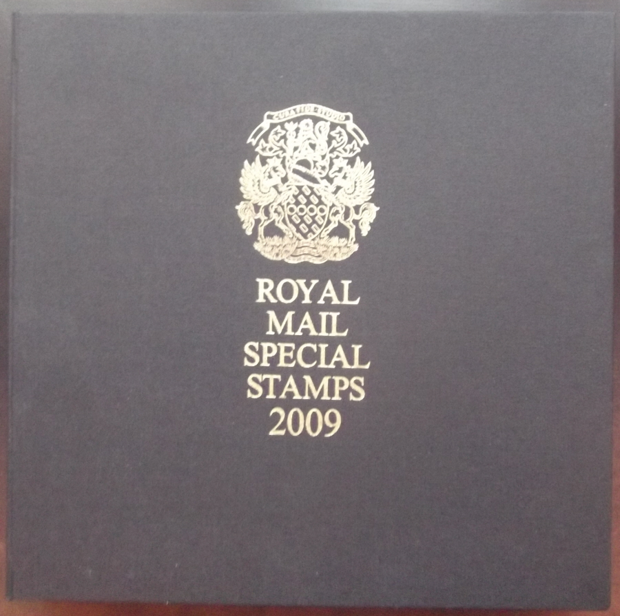 2009 Leather Bound Royal Mail Year Book. Limited Edition.