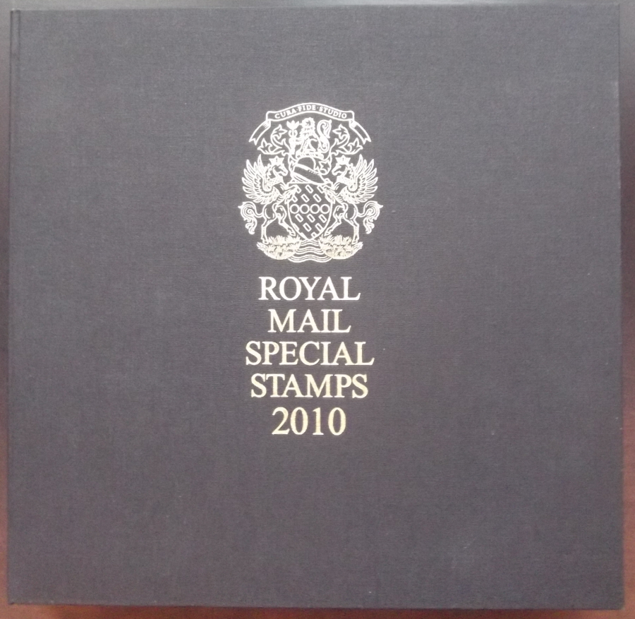 2010 Leather Bound Royal Mail Year Book. Limited Edition.