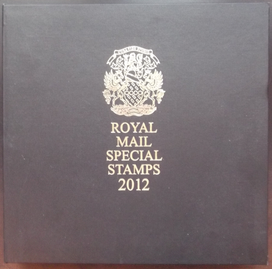 2012 Leather Bound Royal Mail Year Book. Limited Edition.