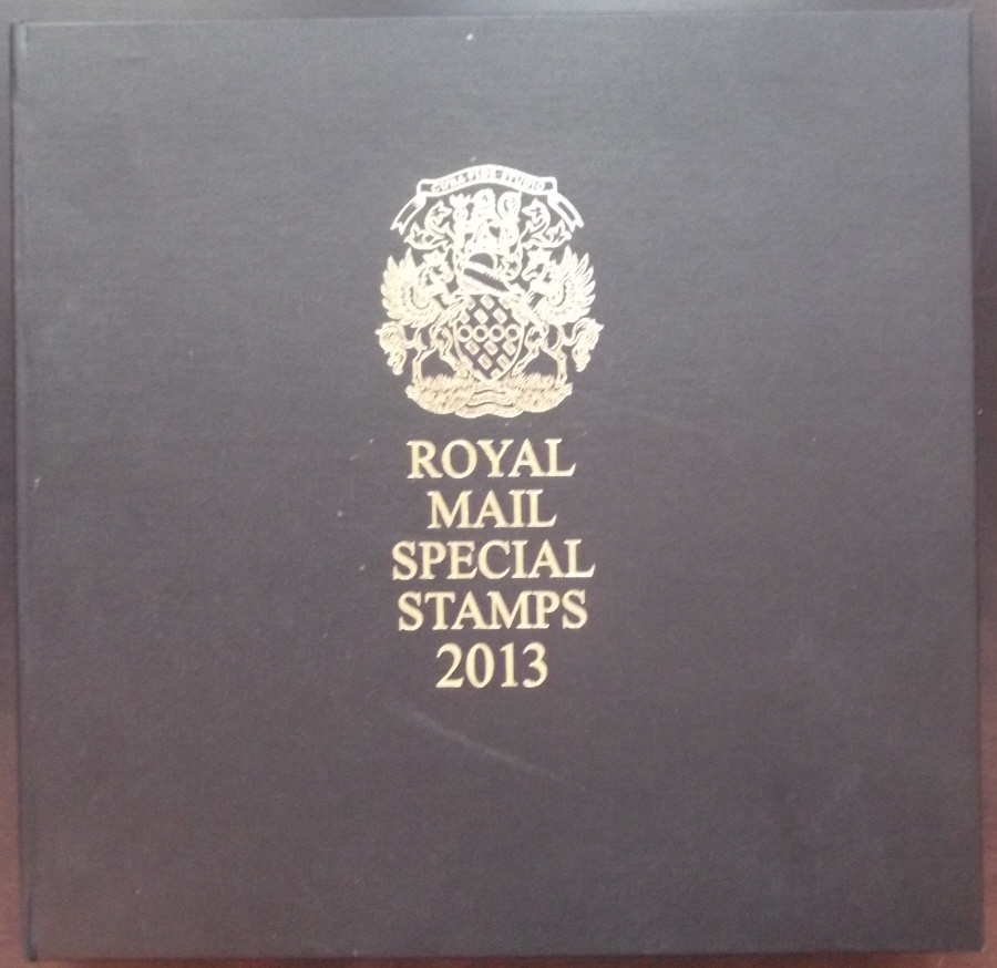 2013 Leather Bound Royal Mail Year Book. Limited Edition.