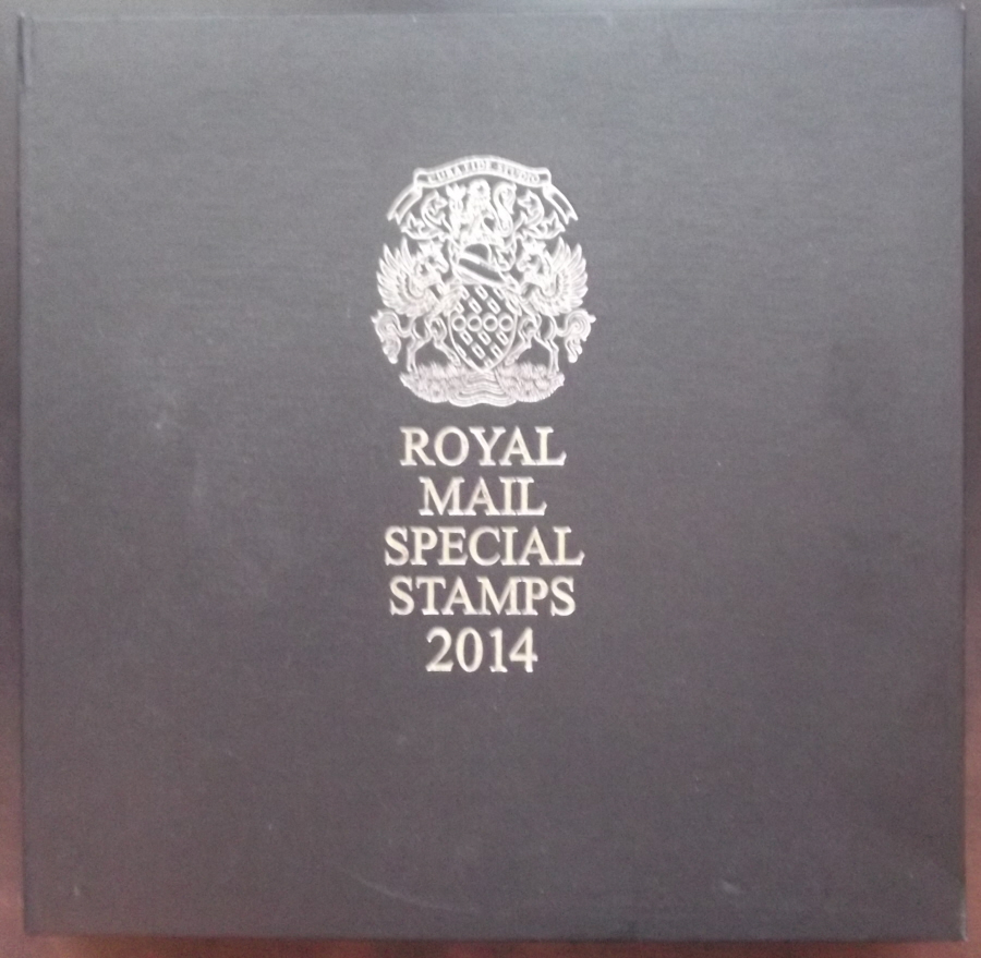 2014 Leather Bound Royal Mail Year Book. Limited Edition.
