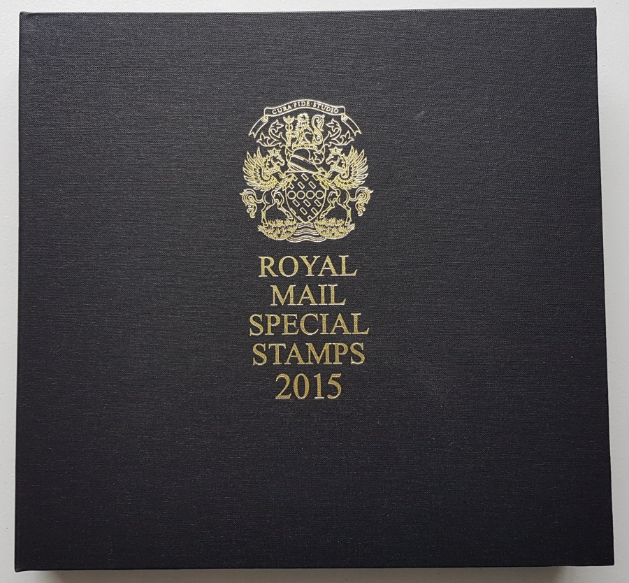 2015 Leather Bound Royal Mail Year Book. Limited Edition.