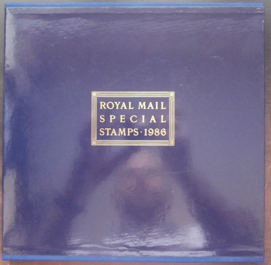 1986 Royal Mail Special Stamps Year Book Number 3