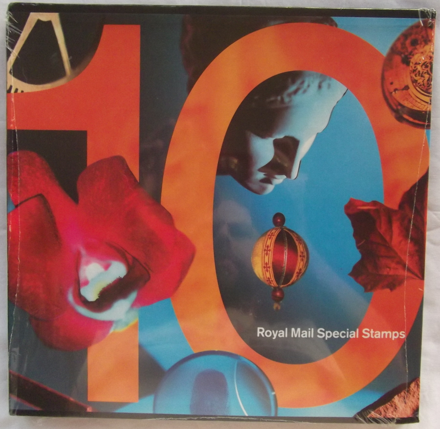 1993 Royal Mail Special Stamps Year Book Number 10