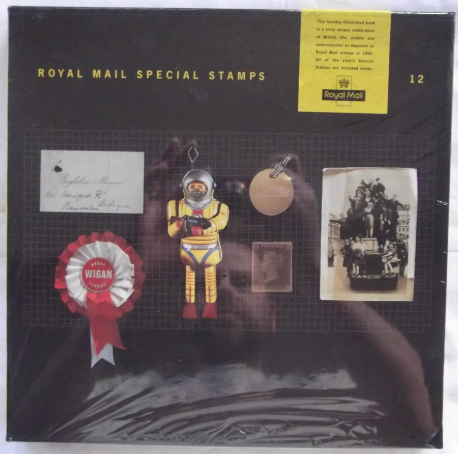 1995 Royal Mail Special Stamps Year Book Number 12