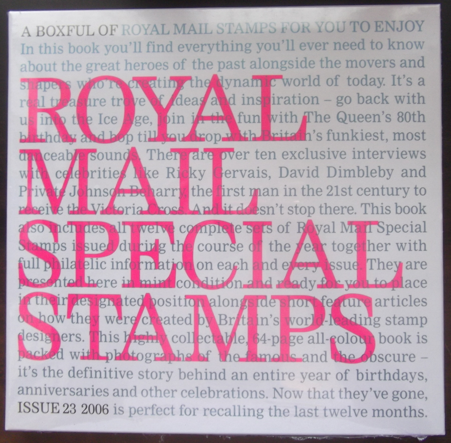 2006 Royal Mail Special Stamps Year Book Number 23